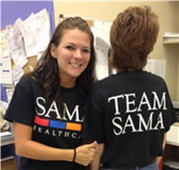 Picture of SAMA Healthcare staff